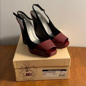 Elegant Peep Toe Heels